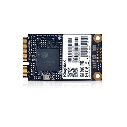 KingDian MSATA Mini PCIe 120GB 128GB 240GB 256GB Velocidad Upgrade Kit M280Series SSD Solid State Drive, Negro,...