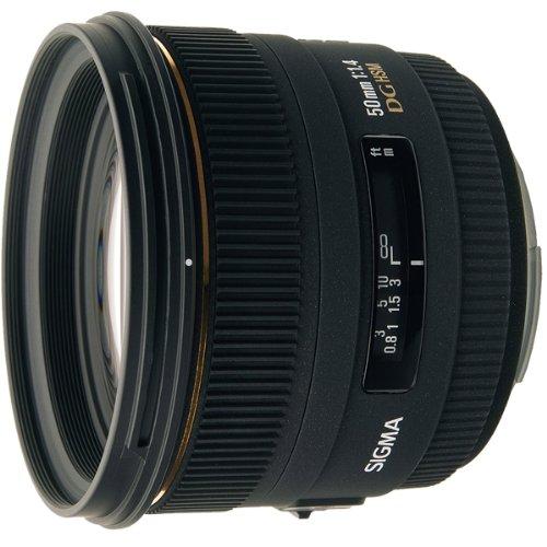 Price comparison product image Sigma 50mm f / 1.4 EX DG HSM Lens for Nikon Digital SLR Cameras