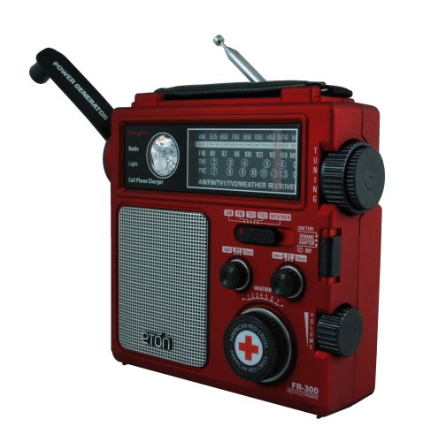 American Red Cross Fr300 Emergency Radio  Red