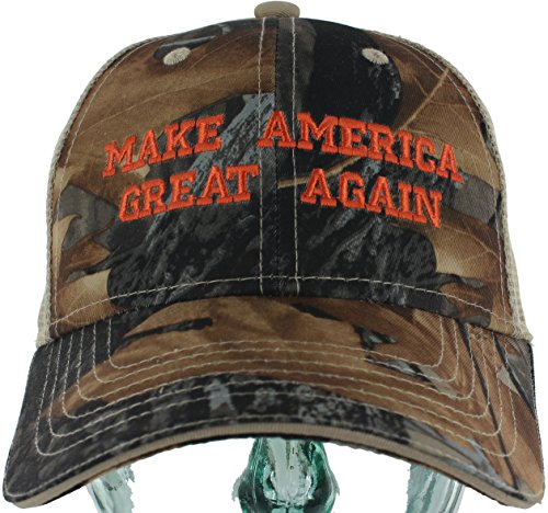 Make America Great Again Hat CAMO TRUCKER MESH Donald Trump Campaign 2016 Hat - Exclusive - Exclusive Snapback Caps