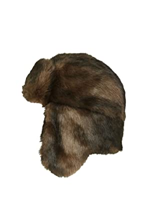 e5c8537c3 Topshop Ladies Faux Fur Bear Trapper Hat: Amazon.co.uk: Clothing