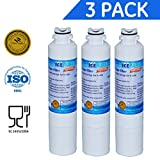 Icepure RFC0700A-3PACK Refrigerator Water Filter Compatible With SAMSUNG D29- 0020A,D29-0020B
