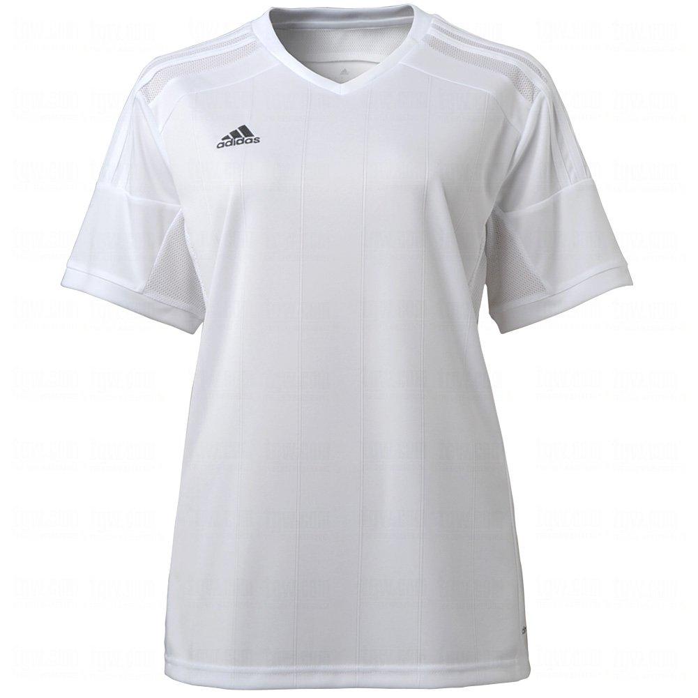 Adidas Women 's Regista Soccer Jersey B00H5UPD5U Small|White|White White|White Small