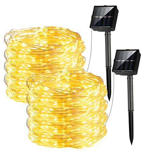 100 Led Solar Fairy Lights in US - 8
