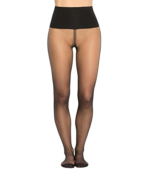 12edfabb74e Spanx Tummy Shaping Opaque Tights  Amazon.co.uk  Clothing