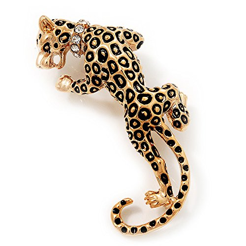 'Roaring Leopard' Gold Plated ()