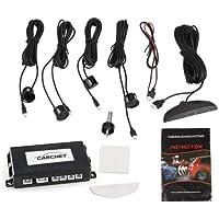 LED 4 Sensores de Aparcamiento Marcha Atras Negro
