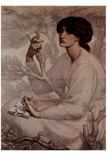 Laminated Dante Gabriel Rossetti The daydream Art Poster Print