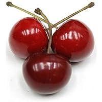 Frutas artificiales de cerezo, frutas artificiales para decoración