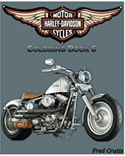 Amazon.com: Harley-Davidson : Coloring Book 1: Sketch Coloring Book ...