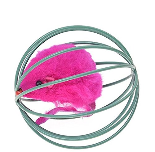 Ndier Ball-Spielzeug für Katzen-Käfig-Spielzeug und mit Einer Maus nach innen Halloween Spielzeug