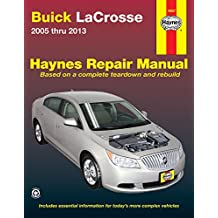 Buick LaCrosse 2005 thru 2013: Does not include information specific to eAssist models
