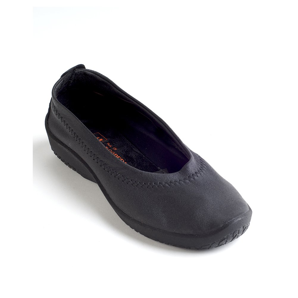 Arcopedico 4111 L2 Womens Flats Shoes B01LWRMRGA 39 M EU|Black