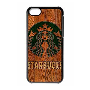 iPhone 5C Custom Cell Phone Case Starbuck Coffee Case Cover WWFL34314