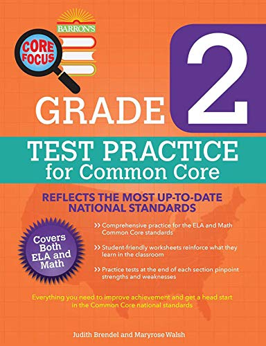 Barron's Core Focus Grade 2: Test Practice for Common Core ()