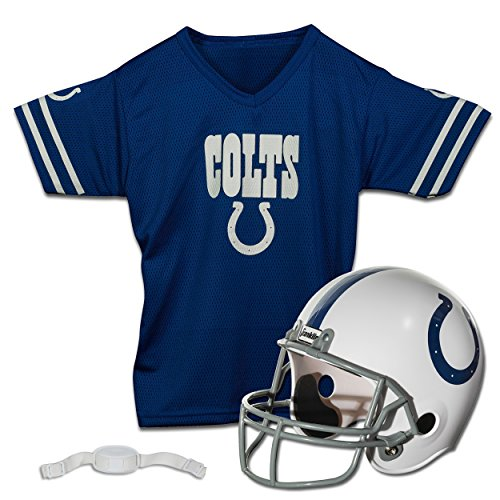 Franklin Sports NFL Indianapolis Colts Replica Youth Helmet and Jersey Set