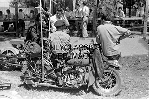 OnlyClassics 1950's Motorcycle Racers 8X12 Photo VALE for sale  Delivered anywhere in USA