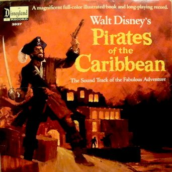 - Walt Disney's Pirates of the Caribbean: (Sound Track w/ Full-color Illustrated Book) Tracklist: Pirates Of The Caribbean Adventure. Yo Ho. A Life On The Ocean Waves. Asleep In The Deep. A Capital Ship. . Narrator, Vocals - Thurl Ravenscroft