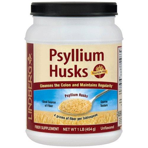 Lindberg Psyllium Husks Powder, 1 Pound - Psyllium Laxative Husk