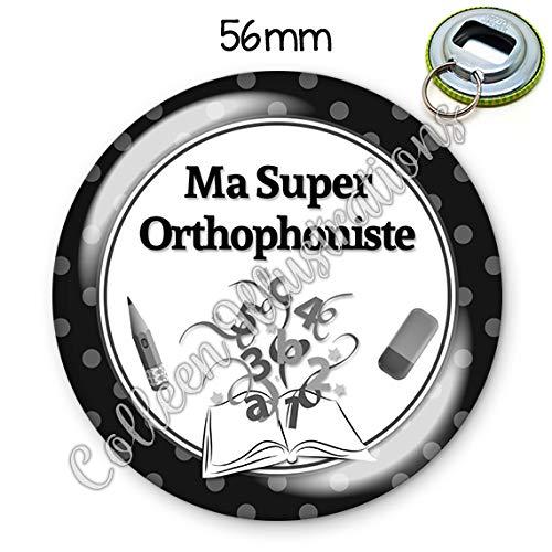 Magnet 56mm Super p/édiatre aimant frigo id/ée cadeau anniversaire no/ël dipl/ôme m/édical