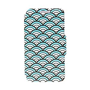 JOE Kinston Proud As A Peacock Pattern PU Leather Full Body Case with Stand for Samsung Galaxy S5 Mini