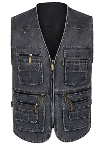 12 Pocket Mens Vest - 1