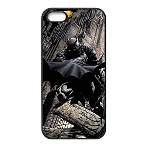 Batman Comic iPhone 4 4s Cell Phone Case Black Exquisite designs Phone Case KMJ8J965