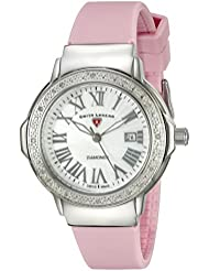 Swiss Legend Womens 20032DSM-02-PKS South Beach Analog Display Swiss Quartz Pink Watch