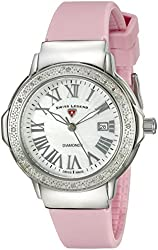 Swiss Legend Women's 20032DSM-02-PKS South Beach Analog Display Swiss Quartz Pink Watch