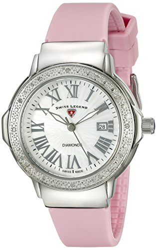 South Beach Pearl - Swiss Legend Women's 20032DSM-02-PKS South Beach Analog Display Swiss Quartz Pink Watch