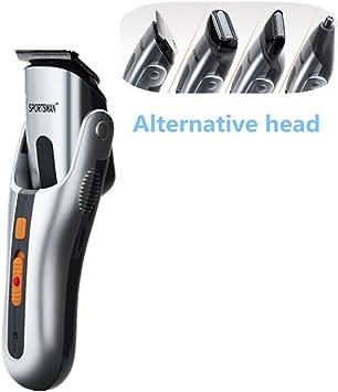 Cortapelos eléctrico Multi-Function conjunto afeitadora de barba ...