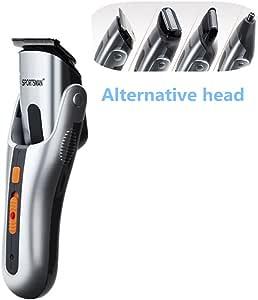 Cortapelos eléctrico Multi-Function conjunto afeitadora de barba bigote/afeitadora para nariz/cortapelos xagoo® Profesional niños: Amazon.es: Salud y cuidado personal