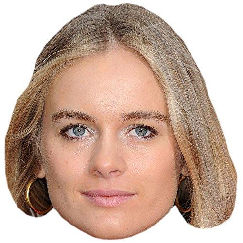 Cressida Bonas Celebrity Mask, Card Face and Fancy Dress Mask