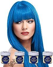 La Riche Directions Semi-Permanent Hair Colour Dye Box Of Four-Lagoon Blue by La Riche