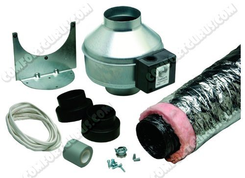 - Systemair BFRK100 4 Duct a 100 Cfm, Surface Mount Fan Conversion Kit by Systemair