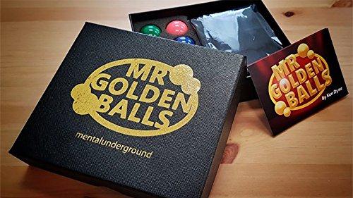 Mr Golden Balls Gimmicks and Online Instructions by Ken Dyne