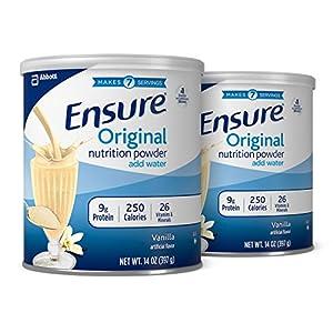Ensure Original Nutrition Powder, Vanilla, 14-Ounce, 2 Count (14 Servings)