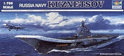 Trumpeter 1:700 - USSR Admiral Kuznetsov Aircraft Carrier by Trumpeter