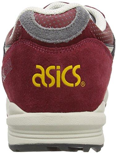 ASICS Gelsaga - Zapatillas de deporte unisex Rojo (Burgundy/Off 2599)