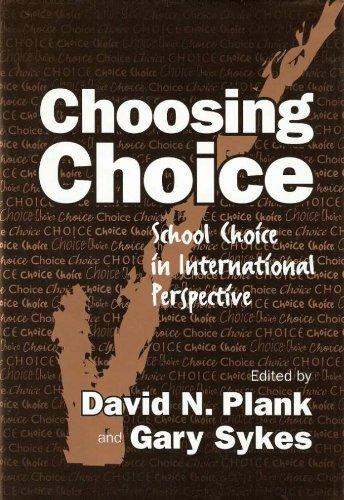 Choosing Choice: School Choice in International Perspective