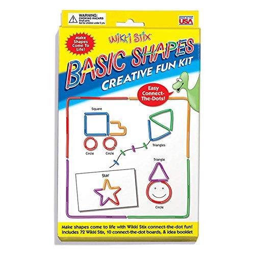 (2 Ea) Wikki Stix Basic Shapes Kit