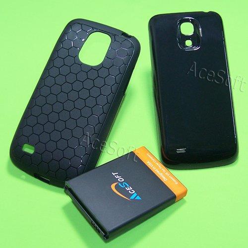 on sale 7cbcb feba2 Amazon.com: AceSoft 6400mAh Samsung Galaxy S4 mini Extended Battery ...