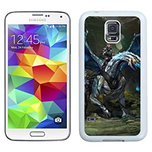 Beautiful And Unique Designed With Dragon Rider Creatures Army Cliffs (2) For Samsung Galaxy S5 I9600 G900a G900v G900p G900t G900w Phone Case