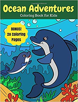 540+ Coloring Book Pages Of Ocean Animals HD