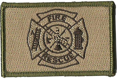 Fire Rescue Tactical Patches - Multitan