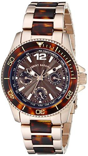 Tommy Bahama Women's TB4051 Riviera Round Bronzelite Multi-Function Watch