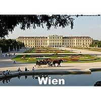WienAT-Version  (Wandkalender 2016 DIN A2 quer): Wiener Bauten und Sehenswürdigkeiten (Monatskalender, 14 Seiten ) (CALVENDO Orte)