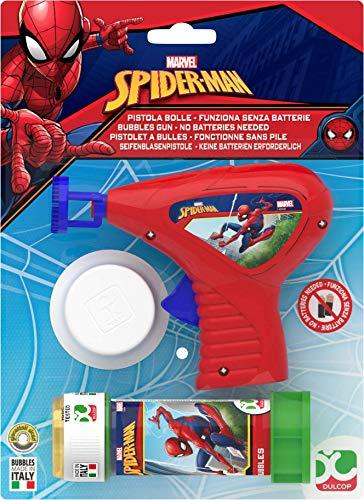 COMIC / SUPERHERO Spiderman bubble gun + bottle bubbles ()