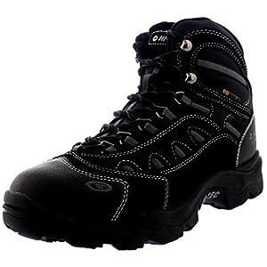 Hi-Tec Mens Bandera Winter 200 Hiking Waterproof Walking Ankle Boots - Black/Charcoal - 8