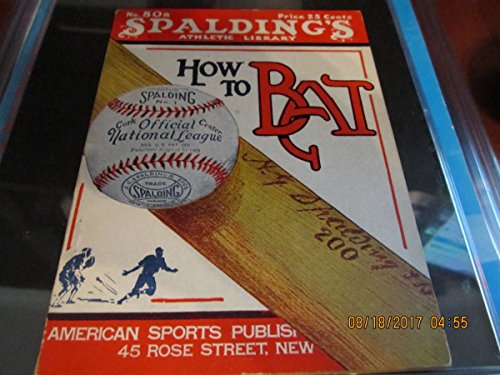 1925 Spalding How To Bat em Babe ruth Guide #80r